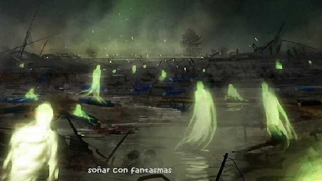 Que significa soñar con fantasmas