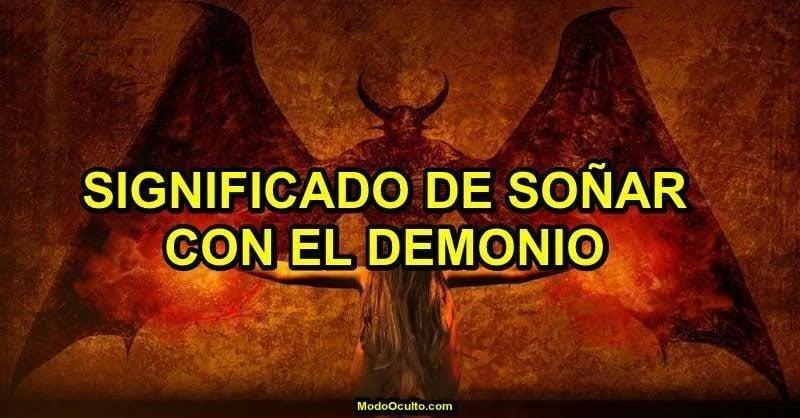 Significado de soñar con el demonio